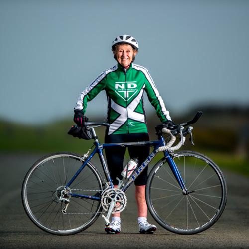Peggy Crome Inspiring Sportsperson