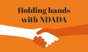 Holding hands with NDADA