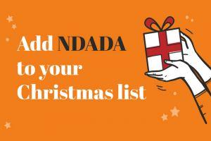 Add NDADA to your Christmas list